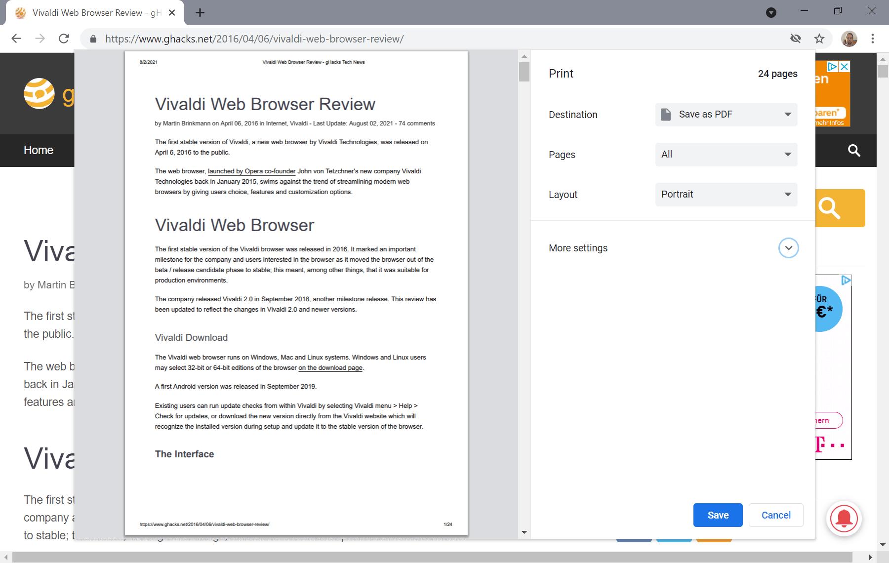 guardar como pdf chrome