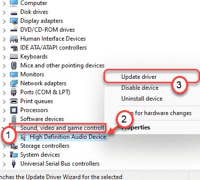 Actualizar dispositivo de audio mínimo