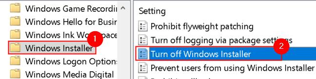Windows Installer Desactivar Windows Installer Min