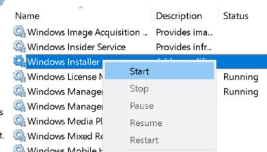 Iniciar Windows Installer Min