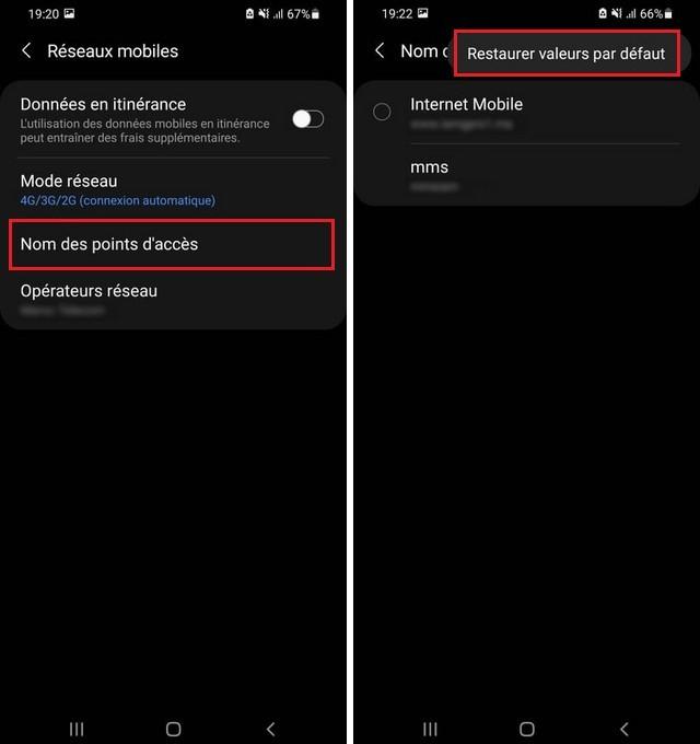 Cómo arreglar los datos móviles