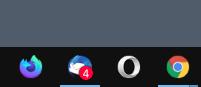 insignia de correo no leído de thunderbird