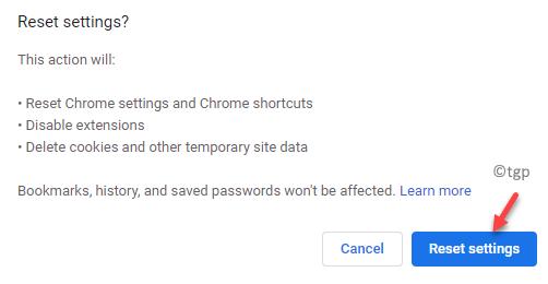 Chrome Restablecer configuración Restablecer configuración