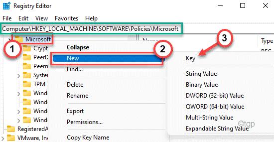 Nueva clave Microsoft Min