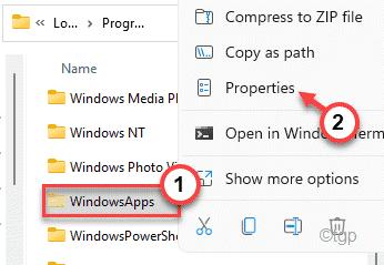Accesorios de Windowsapps Min