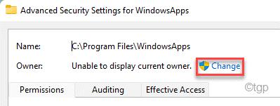 Cambiar ventana de propietario Datos de la aplicación Nuevo mínimo