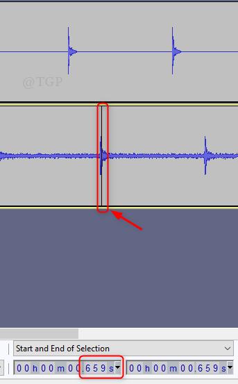 Audacity de latencia de pista de ritmo