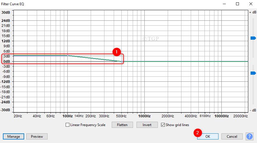 Filter Curve Window Audacity Min