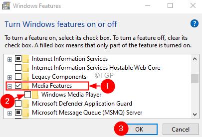 Características de Windows