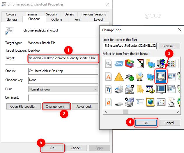Cambiar icono de acceso directo Nuevo