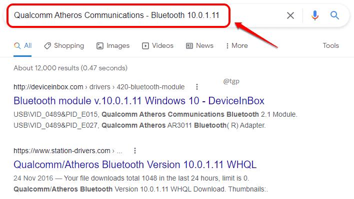 4 Información del controlador de Google optimizada