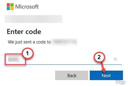 Siguiente código mínimo