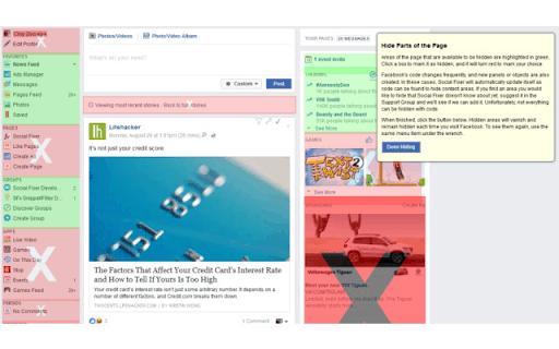 Extensión de Social Fixer para Facebook para Chrome