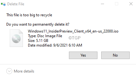 These Items Are Too Big To Delete