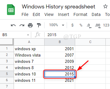 Click On Cell Google Sheets Min