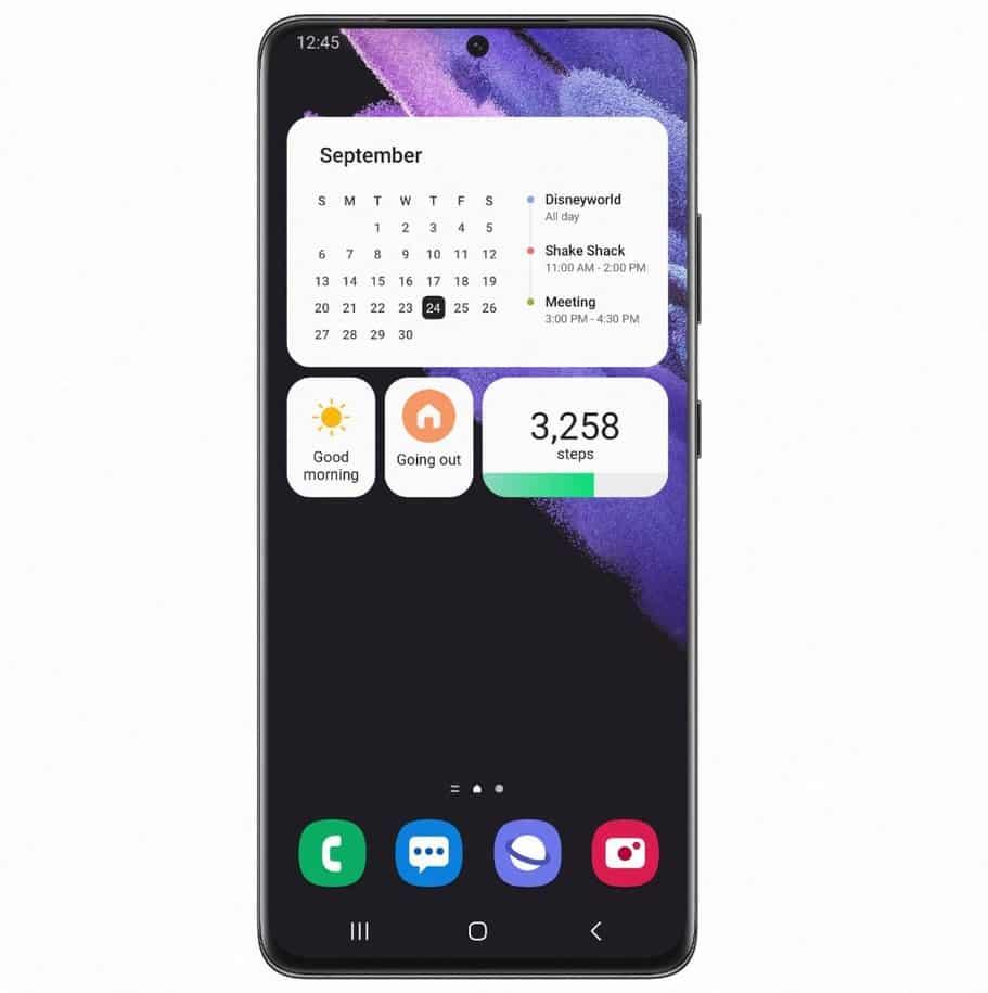 One UI 4 para Samsung Galaxy S21