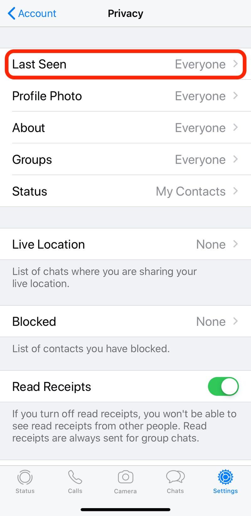 Los nuevos controles de privacidad para WhatsApp le permitirán ocultar su estado de 'Última vez visto'